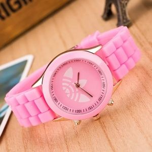 NWT Pink Adidas watch